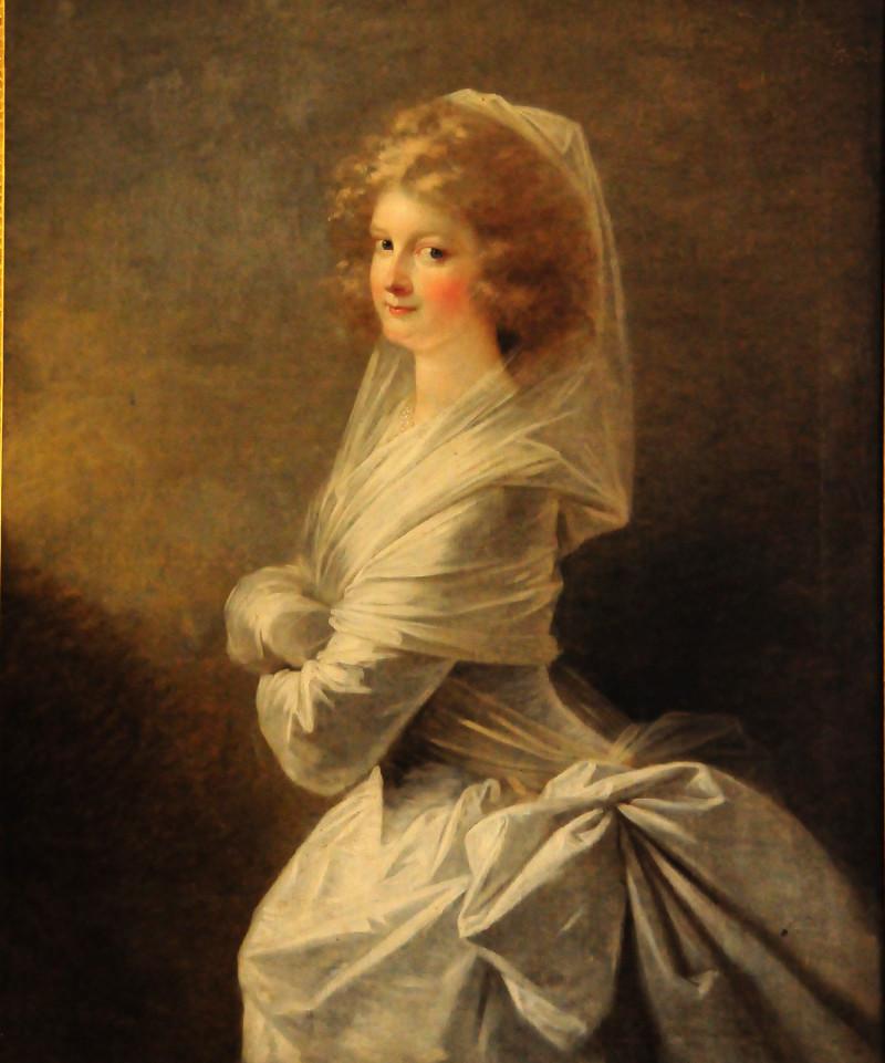 """""""Die weisse Frau""""   Elise von Harprecht  1770 - 1834"""