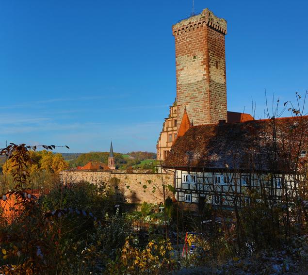 Turm aus dem 13. Jahrhundert